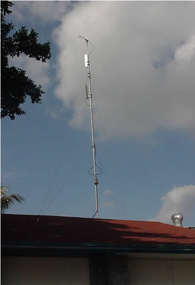 A Coach Connect Wi-Fi antenna